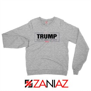 Make The Liberals Cry Again Sweatshirt Trump 2020 Sweater S-2XL
