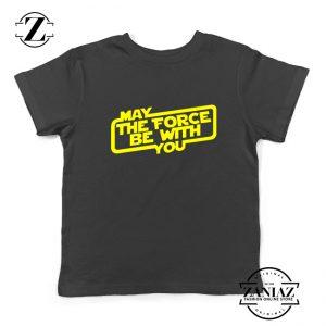 May The Force Be With You Kids Tshirt Obi Wan Kenobi Youth Tee Shirts