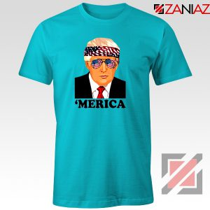 Merica Tshirt Trump Patriotic Best Gift Tee Shirts S-3XL
