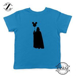 Mickey Balloon Darth Vader Kids Tshirt Star Wars Disney Youth Shirts