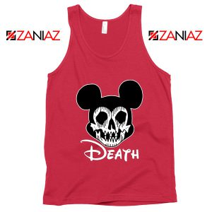 Mickey Disney Parody Tank Top Disney Halloween Tops S-3XL Red