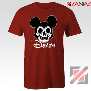 Mickey Disney Parody Tshirt Disney Halloween Tee Shirts S-3XL Red