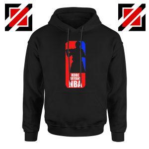 NBA Logo Kobe Black Hoodie