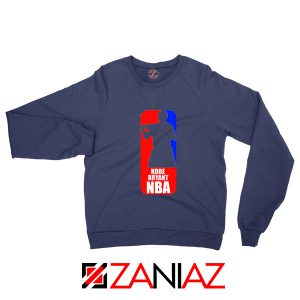 NBA Logo Kobe Navy Sweater
