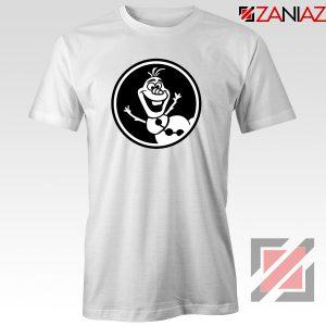 Olaf Disney Tshirt Disney Characters Tee Shirts S-3XL White