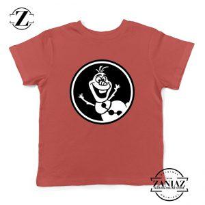 Olaf Disney Youth Tshirt Disney Characters Kids Tees S-XL Red