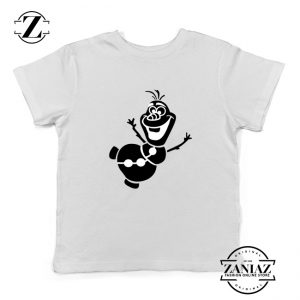 Olaf Snowman Kids Tshirt Disney Frozen Youth Tee Shirts S-XL