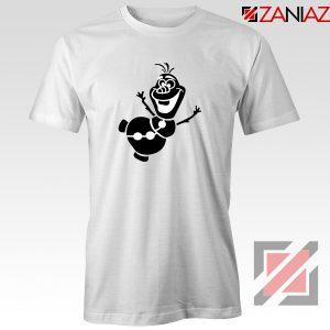 Olaf Snowman Tshirt Disney Frozen Tee Shirts S-3XL White