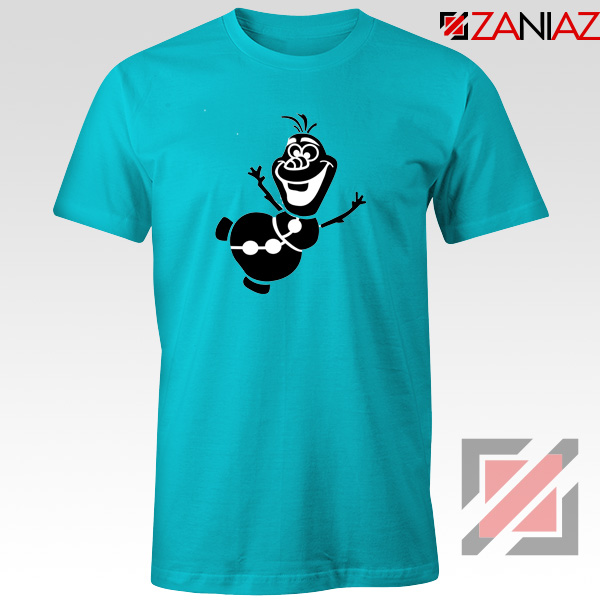 Olaf Snowman Tshirt Disney Frozen Tee Shirts S-3XL