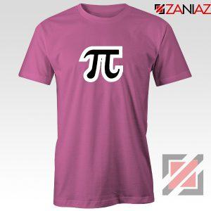 Pi Day Tee Shirt Math Teacher Day Gift Tshirts S-3XL Pink