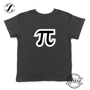 Pi Day Youth Tee Shirt Math Teacher Day Gift Kids Tshirts S-XL Black