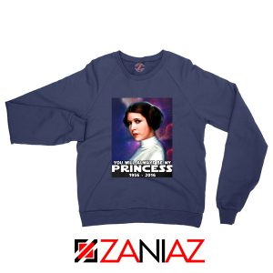 Princess Carrie Fisher Sweatshirt Star Wars Films Sweaters S-2XL