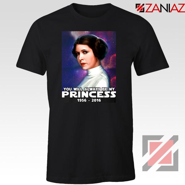 Princess Carrie Fisher Tshirt Star Wars Films Tee Shirts S-3XL