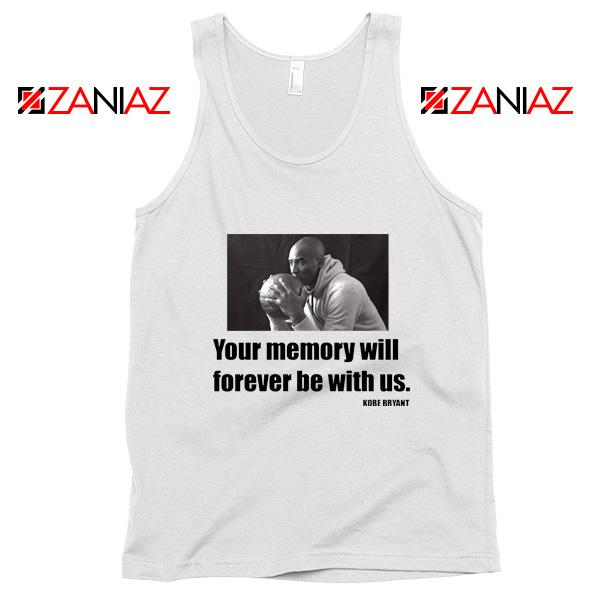 RIP Black Mamba White Tank Top