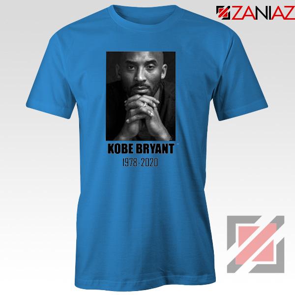 RIP Kobe Bryant Blue Tshirt