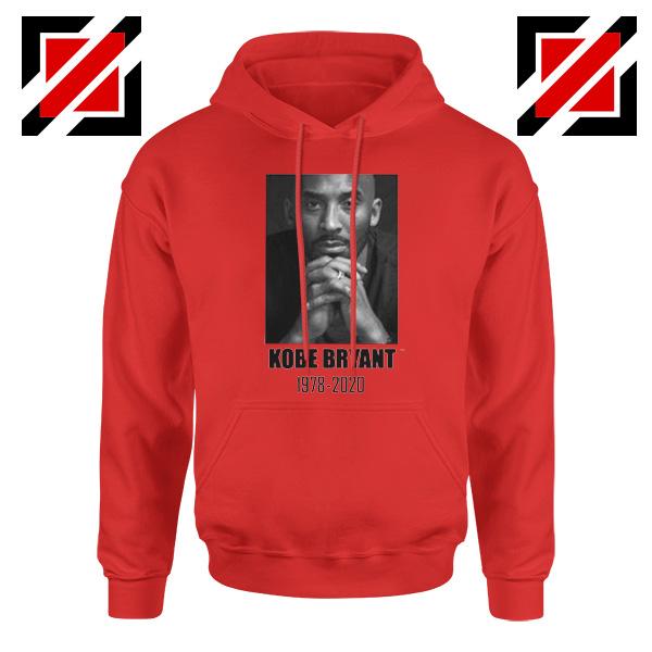 RIP Kobe Bryant Red Hoodie