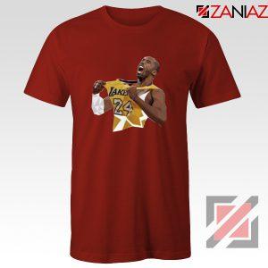 RIP Kobe Red Tshirt