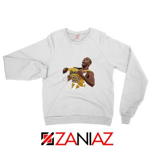 RIP Kobe White Sweater
