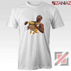 RIP Kobe White Tshirt