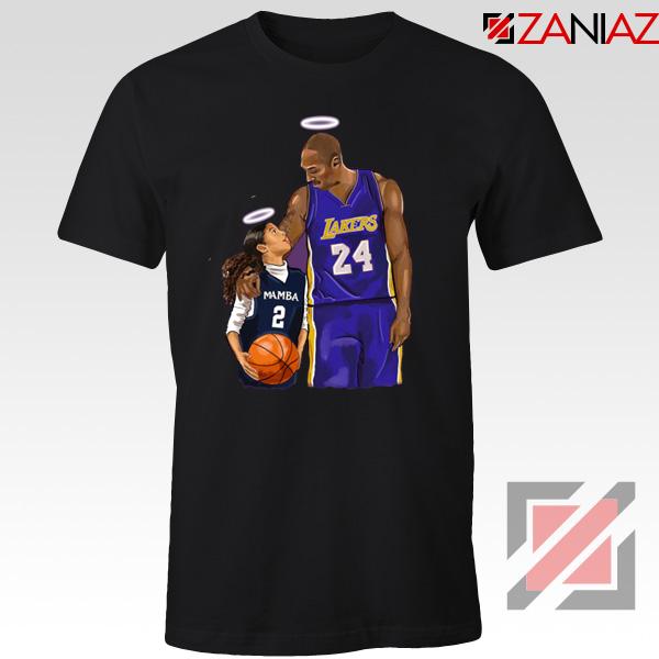 RIP Kobe and Daughter Black Tshirt