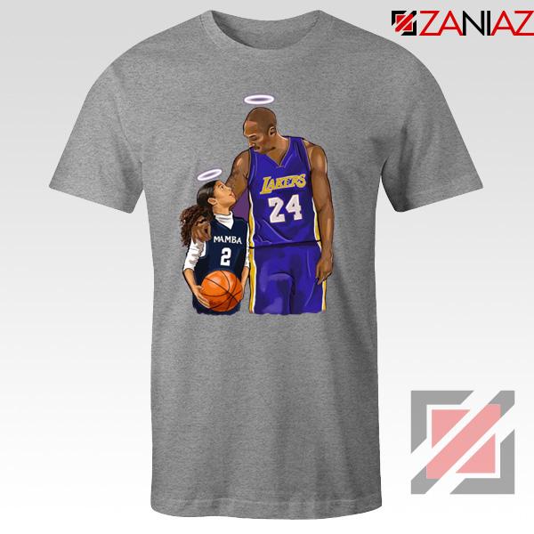 RIP Kobe and Daughter Tshirt RIP NBA Tee Shirts S-3XL
