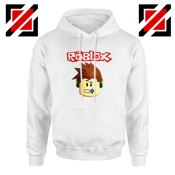 Roblox Gaming White Hoodie