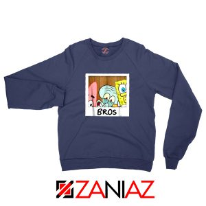 Spongebob Squarepants BROS Navy Sweatshirt