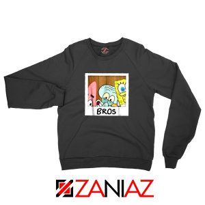Spongebob Squarepants BROS Sweatshirt Nickelodeon Sweaters S-2XL