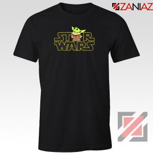 Star Wars Baby Yoda Tshirt The Rise Of Skywalker Tee Shirts S-3XL Black