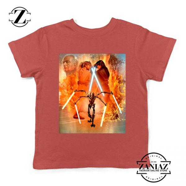 Star Wars Celebration Mural Trilogy Youth Tshirt Star Wars Kids Tee Shirts S-XL