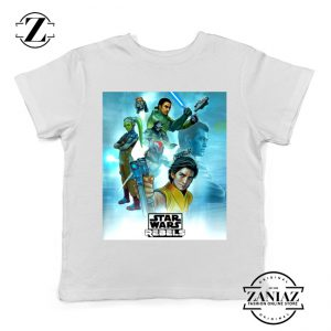 Star Wars Rebels Kids Tshirt Star Wars Season 4 Youth Tee Shirts S-XL
