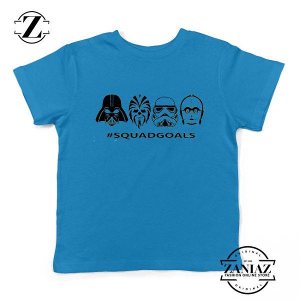 Star Wars Squad Goals Youth Tshirt Star Wars Characters Kids Tee Shirts
