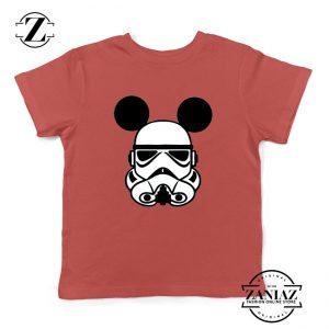 Stormtrooper Mickey Ears Kids Tshirt Star Wars Disney Youth Tee Shirts