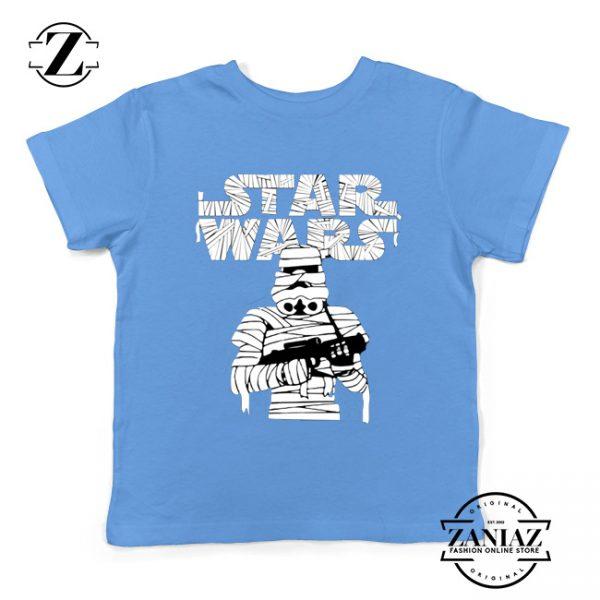 Stormtrooper Mummy Kids Tshirt Star Wars Halloween Youth Tee Shirts S-XL