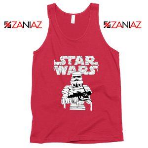 Stormtrooper Mummy Tank Top Star Wars Halloween Tops S-3XL Red