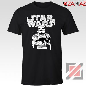 Stormtrooper Mummy Tshirt Star Wars Halloween Tee Shirts S-3XL Black