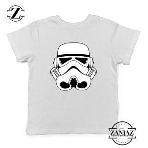 Stormtroopers Helmet Kids Tshirt Star Wars Empire Youth Tee Shirts S-XL