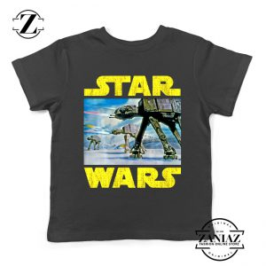 The Battle of Hoth Kids Tee Shirt Star Wars Gift Youth Tshirts S-XL