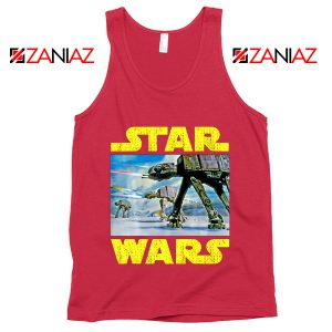 The Battle of Hoth Tank Top Star Wars Gift Tops S-3XL Red