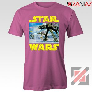 The Battle of Hoth Tshirt Star Wars Gift Tee Shirts S-3XL Pink
