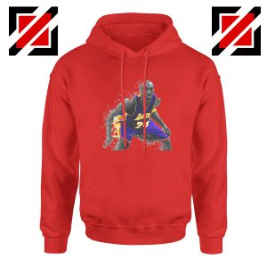 The Black Mamba Kobe Red Hoodie
