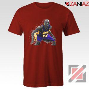 The Black Mamba Kobe Red Tee Shirt