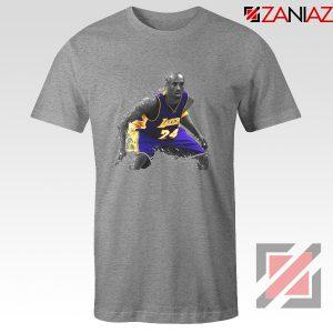 The Black Mamba Kobe Tee Shirt Basketball Player S-3XL