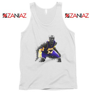 The Black Mamba Kobe White Tank Top