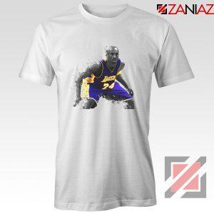 The Black Mamba Kobe White Tee Shirt