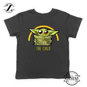 The Child Is So Cute Kids Tshirt The Mandalorian Gifts Youth Tees S-2XL