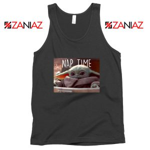 The Child Nap Time Black Tank Top