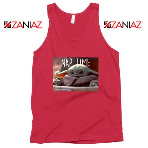 The Child Nap Time Tank Top Baby Yoda Star Wars Tops S-3XL