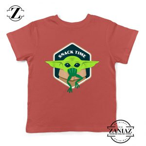 The Child Snack Time Red Youth Tshirt