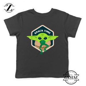 The Child Snack Time Youth Tshirt The Mandalorian Kids Tee Shirts S-XL